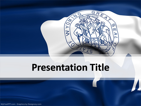Wyoming PowerPoint Template