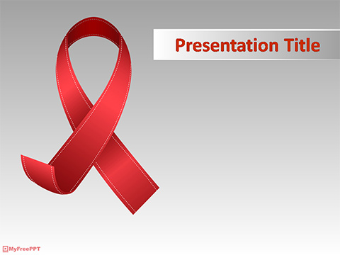 Free Aids Powerpoint Template Download Free Powerpoint Ppt