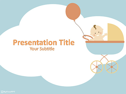 Free Baby PowerPoint Template