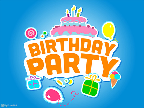 Free Birthday Party Powerpoint Template Download Free