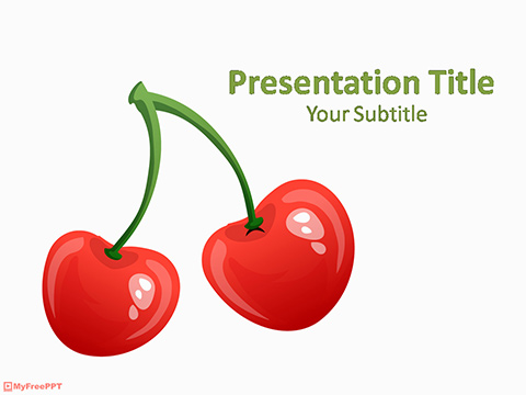 Cherry PowerPoint Template