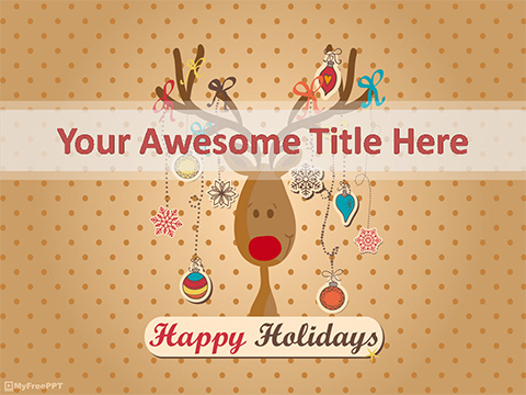 Christmas Holidays PowerPoint Template