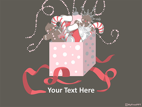 Free Christmas Gifts PowerPoint Template
