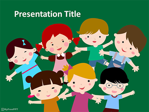 Kids PowerPoint Template