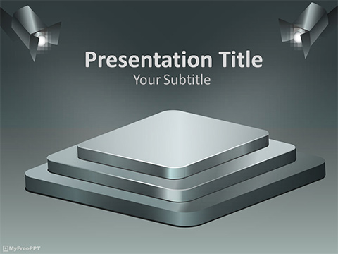 Free Launching Product PowerPoint Template