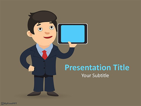 Free Mobile Marketing PowerPoint Template