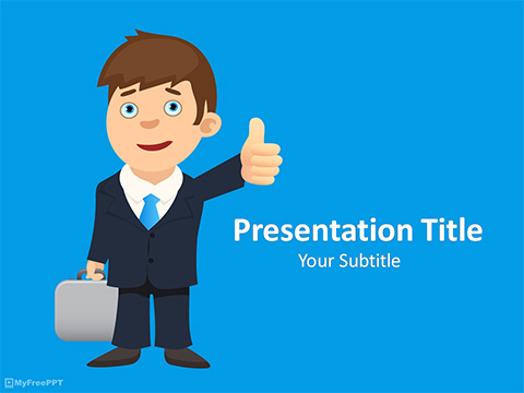 Free Sucess Motivation PowerPoint Template