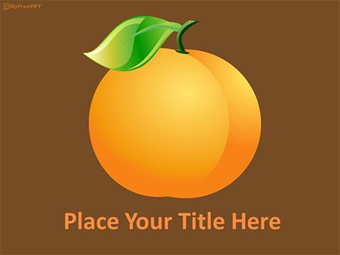 Free Orange Farming Powerpoint Template Download Free