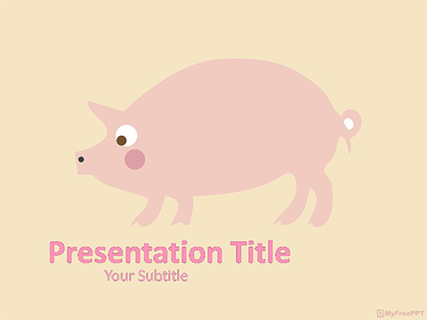 Pig PowerPoint Template
