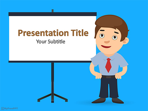 Free Presentation PowerPoint Template