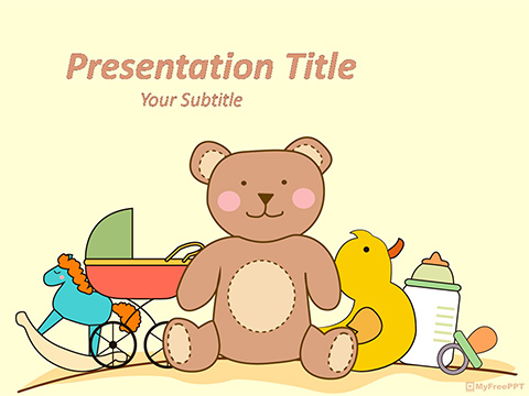 Toys PowerPoint Template