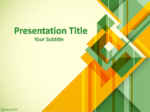 Free Abstract Design Powerpoint Template Download Free