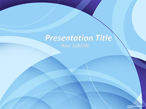 Free Abstract Effect PowerPoint Template