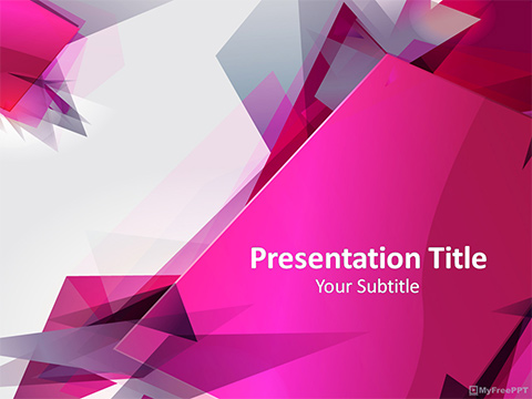 Abstract Graphic PowerPoint Template