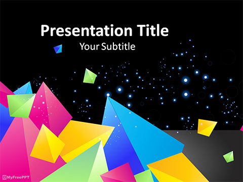 Free Abstract 3d Powerpoint Template Download Free