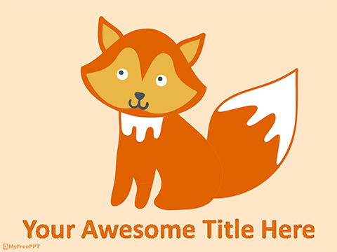 Adorable Pets PowerPoint Template