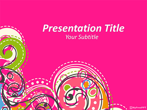 Free Abstract Art PowerPoint Template
