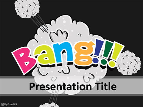 Free Bang PowerPoint Template