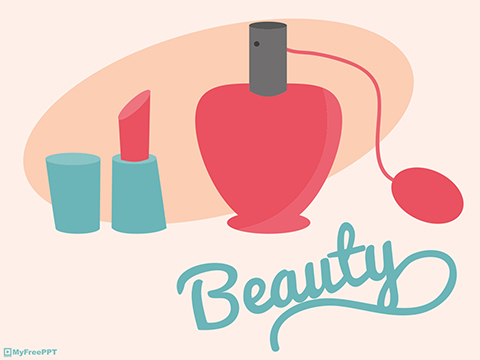 Free Beauty and Makeup PowerPoint Template - Download Free