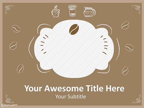 Free Breakfast Menu Template PowerPoint Template