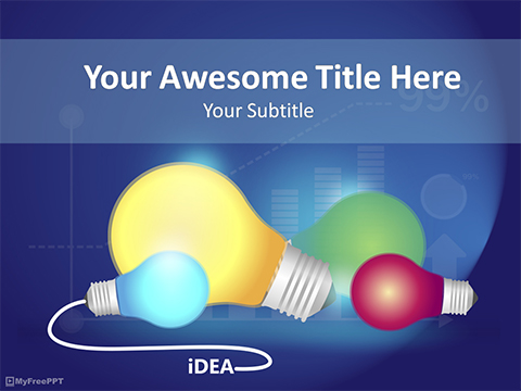 Bright Bulbs PowerPoint Template