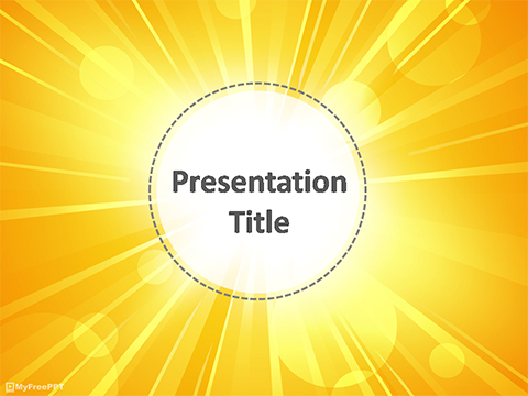 Free Brightness PowerPoint Template