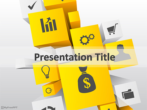 Business Icons PowerPoint Template