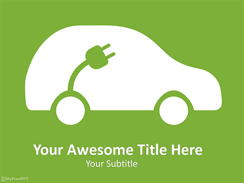 Car Charging PowerPoint Template