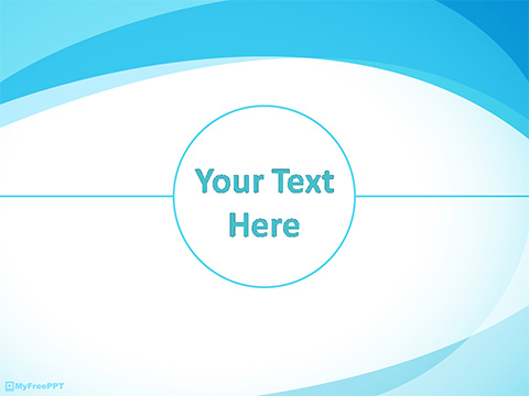 Free Circle Banner Powerpoint Template Download Free
