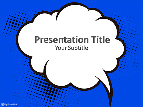 Comic Frame PowerPoint Template