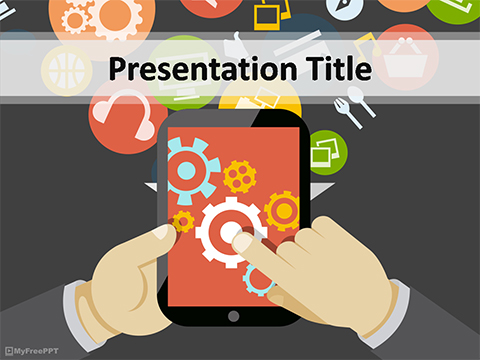 Free Mobile Configuration PowerPoint Template
