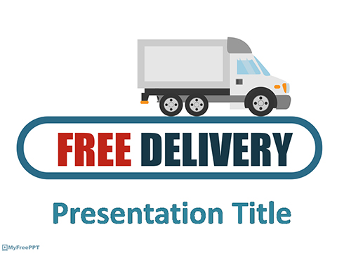Delivery PowerPoint Template