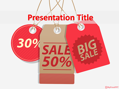 Free Discount Coupons Powerpoint Template