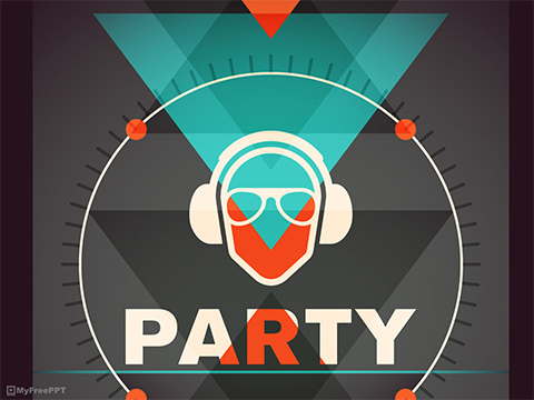Dj Party PowerPoint Template