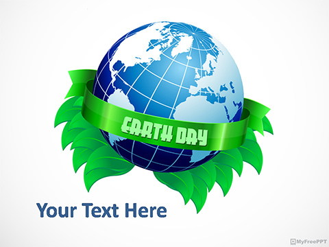 Earth Day Occasion PowerPoint Template