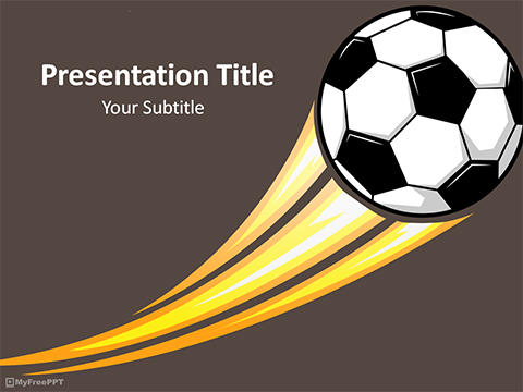 Free Football League Powerpoint Template Download Free