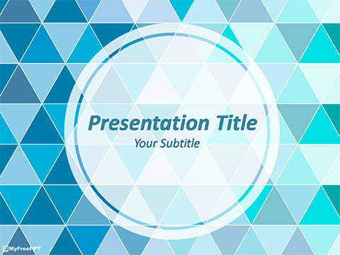 Free Geometrical Powerpoint Template Download Free
