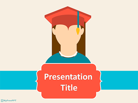 Free Graduation Day PowerPoint Template