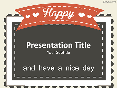 Greeting PowerPoint Template