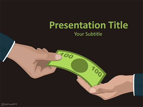 Free Bribe PowerPoint Template