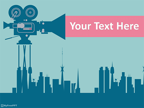 Free Film Industry PowerPoint Template