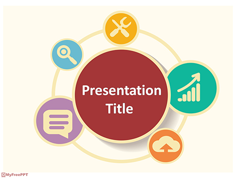 Free Info Graphics PowerPoint Template