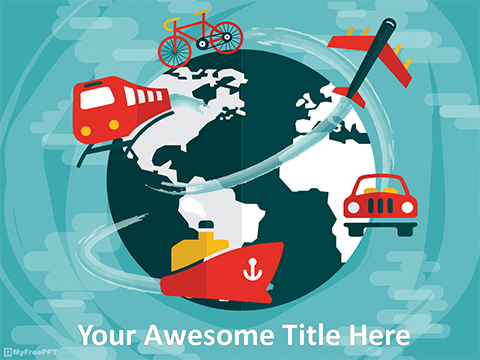 International Travel PowerPoint Template