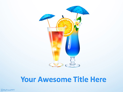 Juice PowerPoint Template