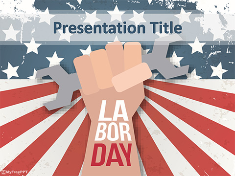 Labor Day Holiday PowerPoint Template