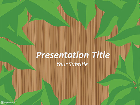 Free Jungle Safari PowerPoint Template