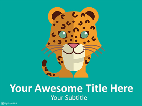 Leopard PowerPoint Template