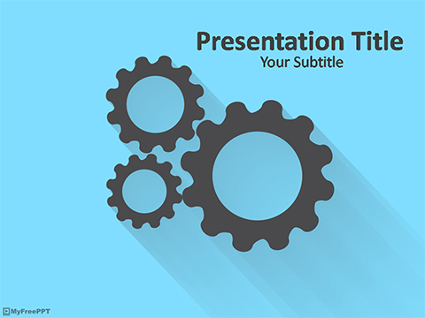 Free Machinery PowerPoint Template