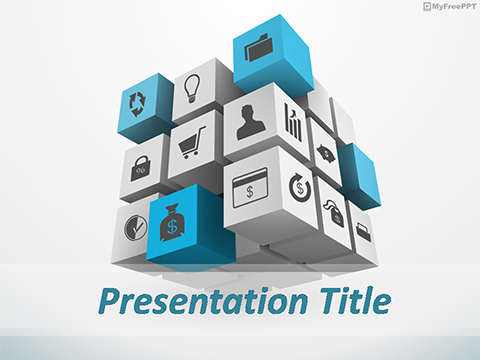 Free Software Business PowerPoint Template
