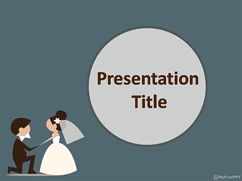 Marriage Anniversary PowerPoint Template